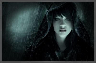 fade to black rain