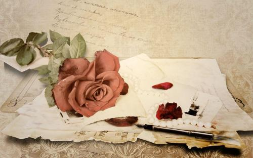 writing roses