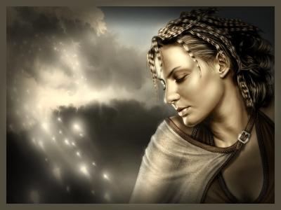 fantasy-woman wallpaper